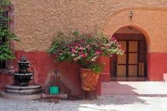 casa de loreto santa arkivbild