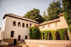 Casa de los Amigo, Alhambra    Foto de Stock