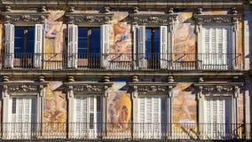 Casa De Los angeles Panaderia, placu Mayor, Madryt, Hiszpania Zdjęcie Royalty Free