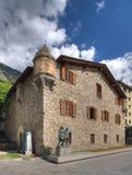 casa De Los angeles Vall Zdjęcia Stock