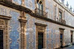 Casa de los Azulejos Stock Image
