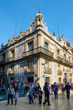 Casa de los Azulejos, un palazzo storico in Città del Messico del centro Immagine Stock Libera da Diritti