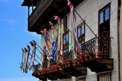 Casa de los Balcones Royaltyfria Foton
