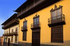 Casa de los Balcones house La Orotava Tenerife Royalty Free Stock Photo