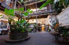 Casa DE los Balcones, La Orotava, Tenerife stock afbeeldingen