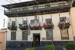 Casa de los Balcones Stock Image