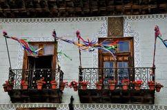 Casa de los Balcones Royalty Free Stock Photos