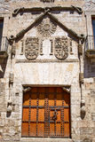 Casa de los Condestables house in Burgos Stock Photos