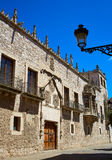 Casa de los Condestables hus i Burgos Royaltyfri Fotografi