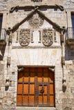 Casa de los Condestables hus i Burgos Arkivfoton