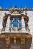 Casa de los Condestables hus i Burgos Fotografering för Bildbyråer
