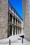 Casa de los Condestables hus i Burgos Arkivfoto