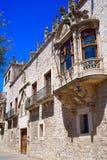 Casa de los Condestables hus i Burgos Royaltyfri Foto