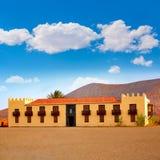 Casa de los Coroneles Fuerteventura La Oliva Stock Photography