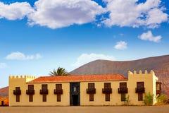 Casa de los Coroneles Fuerteventura La Oliva Stock Photo