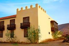 Casa de los Coroneles Fuerteventura La Oliva Royalty Free Stock Image