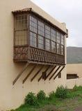 Casa de los Coroneles i La Oliva på Fuerteventura Royaltyfri Bild