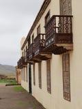 Casa de los Coroneles in La Oliva on Fuerteventura Royalty Free Stock Photography