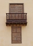 Casa de los Coroneles in La Oliva on Fuerteventura Stock Image