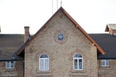 Casa de los ladrillos rojos Fotografía de archivo