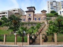 Casa de los Navajas e giardino Immagini Stock