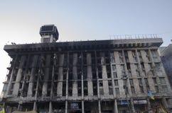 Casa de los sindicatos en Kiev Fotografía de archivo libre de regalías