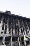 Casa de los sindicatos en Kiev, Ucrania Fotografía de archivo