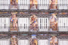 casa de losu angeles Madrid mayor panaderia plac Obraz Stock
