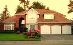 Casa de lujo Imagen de archivo libre de regalías