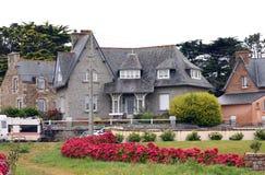 Casa de lujo en Bretaña Fotografía de archivo