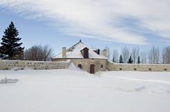 Casa de máquinas de piedra Imagen de archivo libre de regalías
