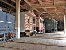 Casa de máquinas en Carolina Transportation Museum del norte Fotografía de archivo libre de regalías