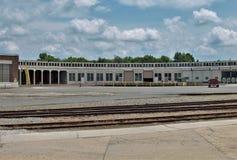 Casa de máquinas en Carolina Transportation Museum del norte Imagen de archivo libre de regalías