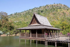 Casa de madeira Fotografia de Stock