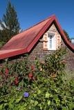 Casa de madeira Imagem de Stock