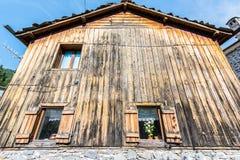 Casa de madeira Fotos de Stock