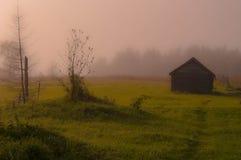 Casa de madeira abandonada Foto de Stock Royalty Free