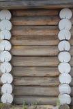Casa de madeira da parede Foto de Stock Royalty Free