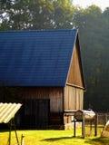 Casa de madeira de Spreewald Fotos de Stock Royalty Free