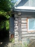 Casa de madeira do jardim Fotos de Stock