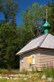 Casa de madeira do russo Foto de Stock Royalty Free