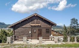 Casa de madeira em França Imagem de Stock