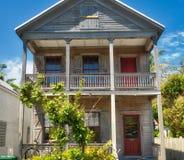 Casa de madeira de Key West Fotos de Stock Royalty Free