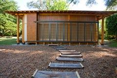 Casa de madeira pequena Foto de Stock