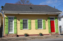 Casa de madeira pequena Foto de Stock Royalty Free