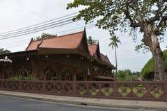 Casa de madeira tailandesa Foto de Stock
