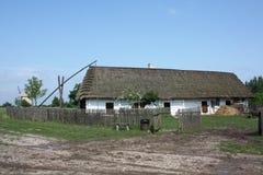 Casa de madeira velha Fotografia de Stock Royalty Free