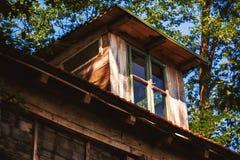 Casa de madeira velha Fotografia de Stock