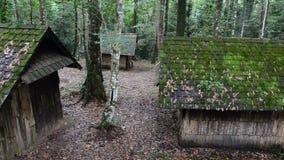 Casa de madeira velha HD filme