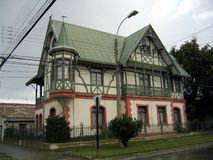 Casa de madera Foto de archivo libre de regalías